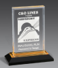 Beveled Impress Award Traditional Acrylic Award Series