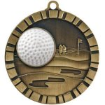 3-D IM Medals -Golf 3-D Series Medal Awards