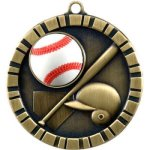 3-D IM Medals -Baseball  3-D Series Medal Awards