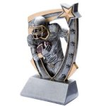 3D Resin Football 3D RST Series Resin Trophy Awards