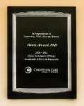 Black Aluminum Plaque Achievement Awards