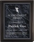 Matte Black Plaque Award Achievement Awards