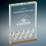 Diamond Mirage Acrylic -Gold Achievement Awards