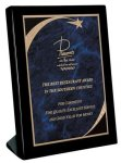Piano Finish Black Stand Up Plaque  Achievement Awards