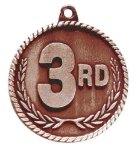 High Relief Medal -3rd Place  Archery Trophy Awards