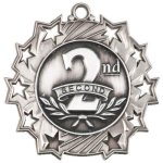 Ten Star Medal -2nd Place  Archery Trophy Awards