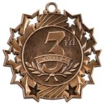 Ten Star Medal -3rd Place  Archery Trophy Awards