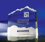 Optic Mountain Clear Optical Crystal Awards