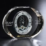 Baldwin Clock Clear Optical Crystal Awards