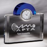 Night and Day Clock Clock Crystal Awards