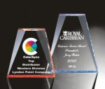 Beveled Wedge Acrylic Award Colored Acrylic Awards