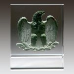 Majestic Eagle (Pewter) Corporate Crystal Awards