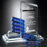 Peak Goal-Setter Corporate Crystal Awards