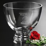 Clear Pedestal Bowl Crystal Barware and Stemware