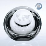 Globe Dome Paperweight Crystal Paperweights
