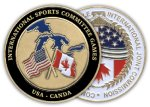 Coin Custom Die Cast Medals
