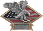 Diamond Plate Resin -Eagle Eagle Plaques