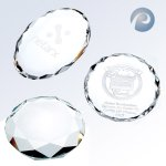 Oval/ Round/ Octagon Paperweight Employee Awards