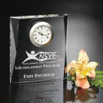 Moments Beveled Clock Employee Awards