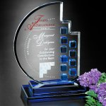 Azure Moon Executive Crystal Awards