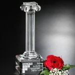 Ionic Column Executive Crystal Awards