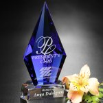 Azurite Award Executive Crystal Awards