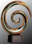 Swirl Art Glass Award Executive Gift Awards