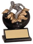 Xploding Resin -Bowling Male  Explosion Resin Trophy Awards