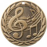FE Series Medals -Music  FE Iron Medal Awards
