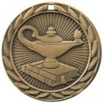 FE Series Medals -Lamp of Knowledge  FE Iron Medal Awards