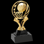 MidNite Star Trophy -Basketball Figure on a Base Trophies