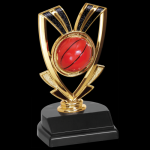 Ribbon Trophy -Basketball Figure on a Base Trophies