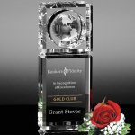 Kilmer Global Award Globe Crystal Awards