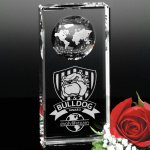 Kendall Global Award Globe Crystal Awards
