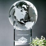 Stratus Globe Globe Crystal Awards