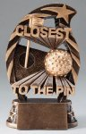 Golf Closest to the Pin Resin Trophy Golf Awards