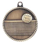 High Relief Medal -Volleyball High Relief Medallion Awards