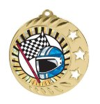 3 Star Medal -Insert Holder Insert Medallion Awards