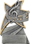 Jazz Star Resin -Music Jazz Star Resin Trophy Awards