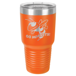 Stainless Steel Ringneck Double Wall Insulated Tumbler -Orange  Lapel Pins