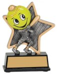 Little Pals Resin Trophy -Softball Little Pals Resin Trophy Awards