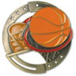 M3XL Series Medals -Basketball  M3XL Series Medal Awards