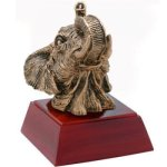 Elephant Resin Mini-Series Resin Trophy Awards
