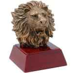 Lion Resin Mini-Series Resin Trophy Awards