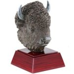 Buffalo Resin Mini-Series Resin Trophy Awards