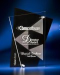 Abstract Clear and Black Acrylic Award Modern Design Award Series