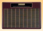Rosewood Perpetual Plaque Monthly Perpetual Plaques