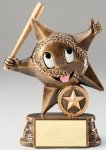 My Lil' Star Resin Trophy -Baseball My Lil' Star Resin Trophy Awards