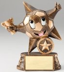 My Lil' Star Resin Trophy -Soccer My Lil' Star Resin Trophy Awards