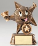 My Lil' Star Resin Trophy -Basketball My Lil' Star Resin Trophy Awards